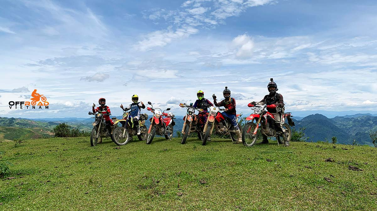 8-day trip on 2 wheels in Vietnam riding rough roads