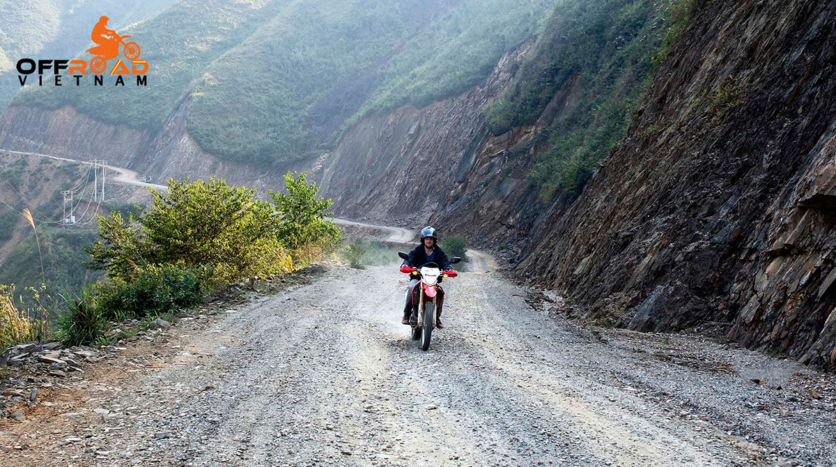 Hidden Vietnam Motorbike Tours - Grand North loop of Vietnam trail road motorcycle tours in 16 days via Phu Yen.