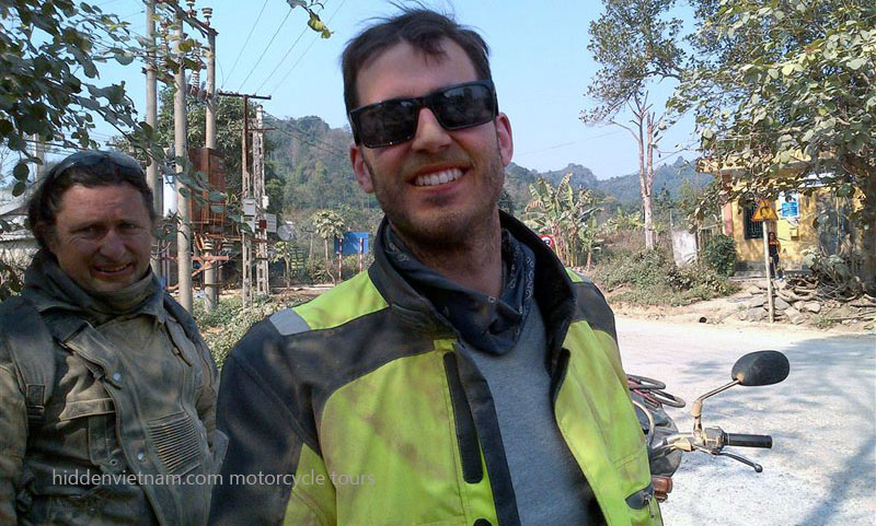 Hidden Vietnam Motorbike Tours - Motorbike Tours Reviews Mr. Eric Doucet (Canada)