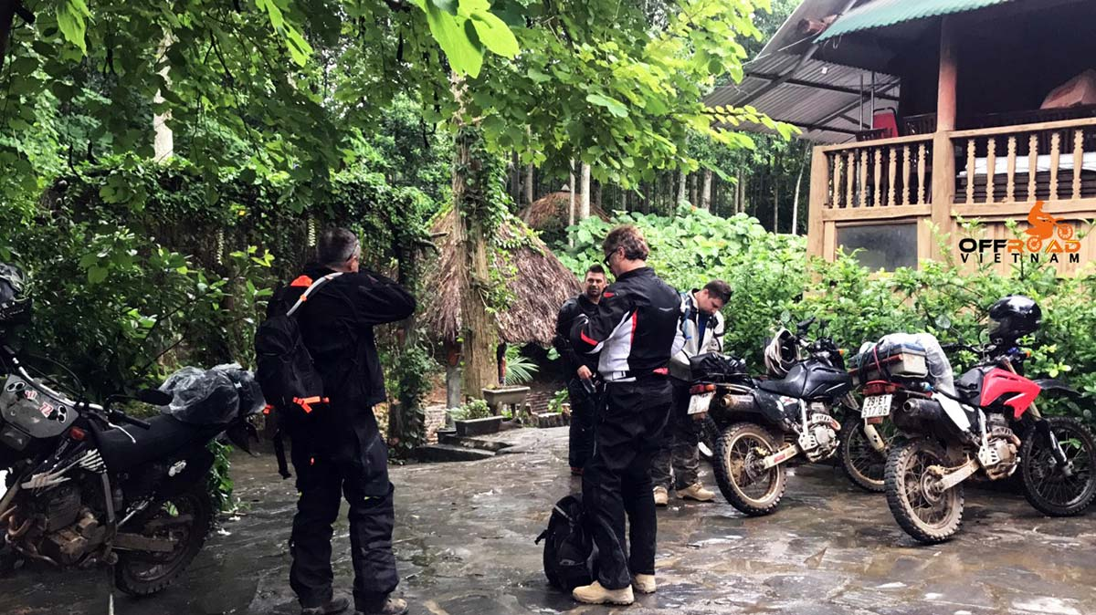 All-inclusive guided motorbike tours with a lovely homestay.