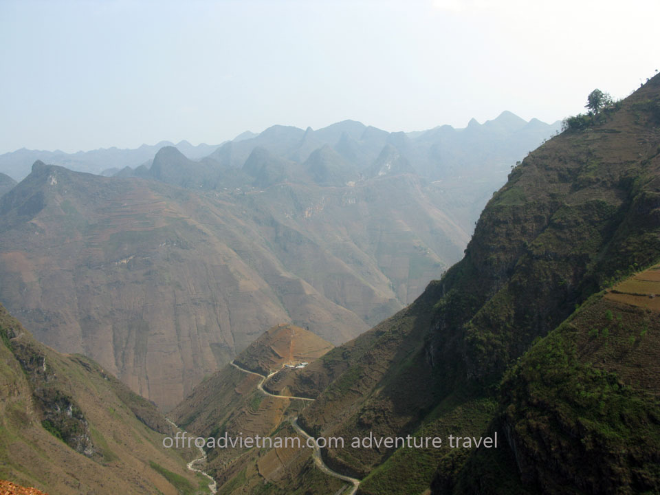 Hidden Vietnam Motorbike Tours - Scenic Ha Giang trail road motorcycle tours in 9 days
