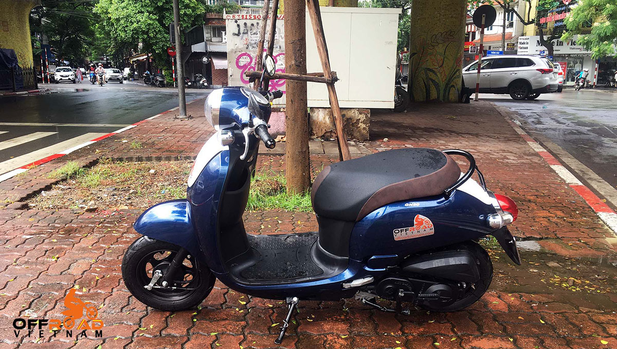 Hidden Vietnam small automatic scooter GN-50 50cc year 2019.