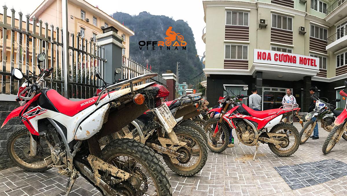 Hidden Vietnam touring motorcycles: Honda dual enduro CRF250L.