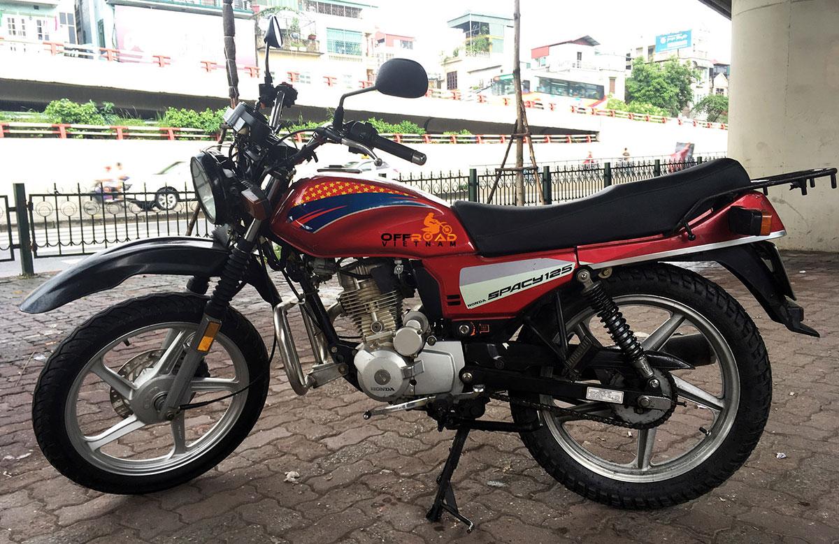 Hidden Vietnam Motorbike Fleet. Honda CGL 125cc