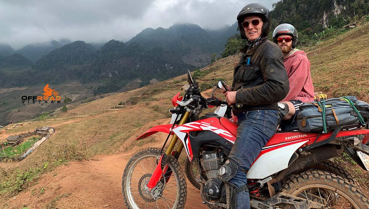 Hidden Vietnam Motorbike Hire. Honda CRF150L 150cc dual enduro.