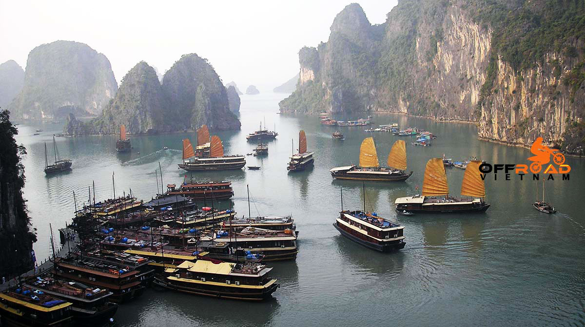 Hidden Vietnam Motorbike Tours - Short Motorbike Tours to Halong Bay.