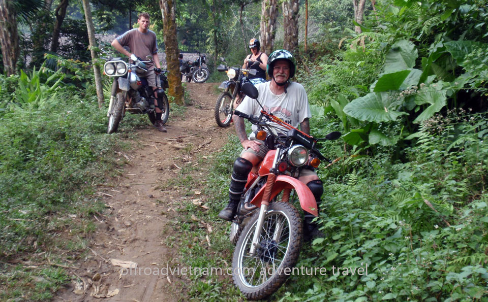 Hidden Vietnam Motorbike Tours - Ho Chi Minh Trail motorcycle tours in 6 days
