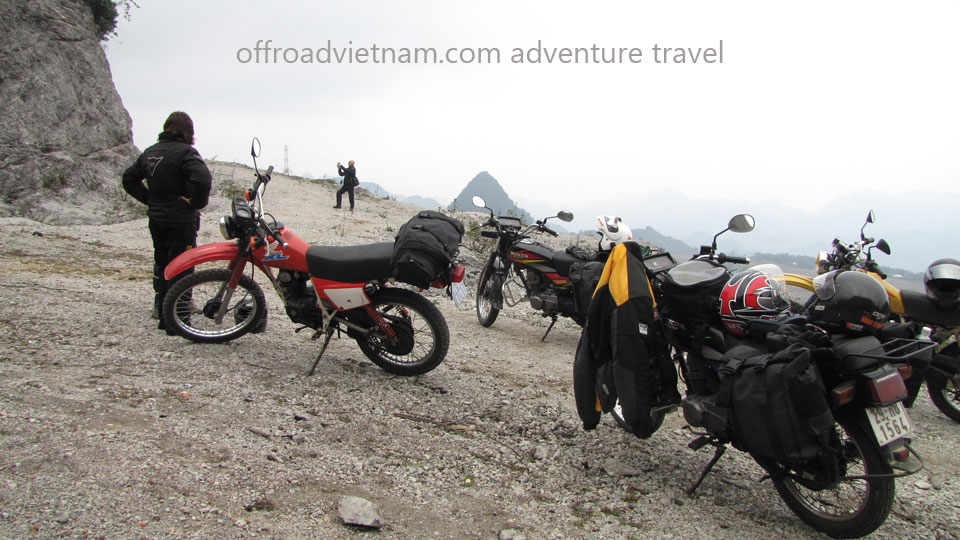 Hidden Vietnam Motorbike Tours - Grand North Loop. Grand North loop of Vietnam trail road motorcycle tours in 16 days
