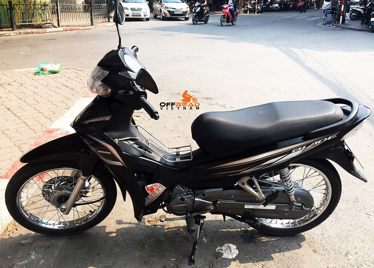 Hidden Vietnam Motorbike Tours - Used motorbikes for sale in Hanoi: Honda Blade 110cc.