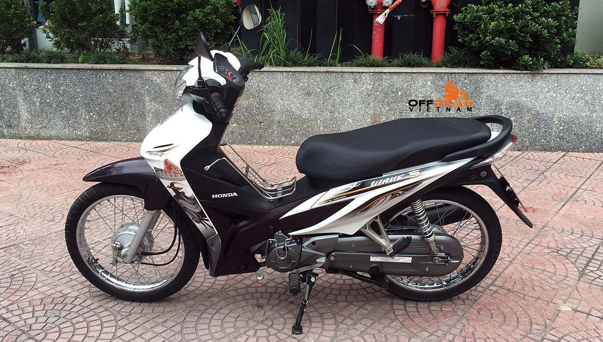 Hidden Vietnam Motorbike Tours - Used motorbikes for sale in Hanoi: Honda Wave S 110cc.