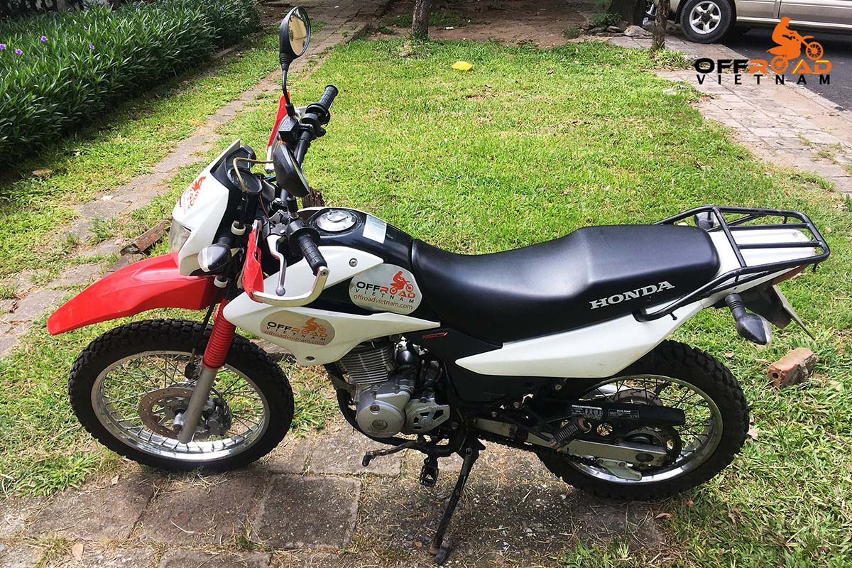 Hidden Vietnam Motorbike Tours - Used motorbikes for sale in Hanoi: Honda XR150L 150cc.