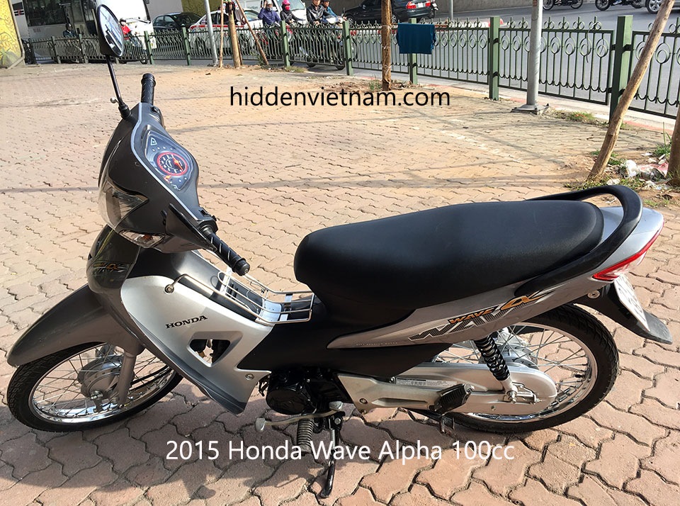 Hidden Vietnam Motorbike Tours - Used motorbikes for sale in Hanoi, Vietnam: 2015 Honda Wave Alpha 100cc