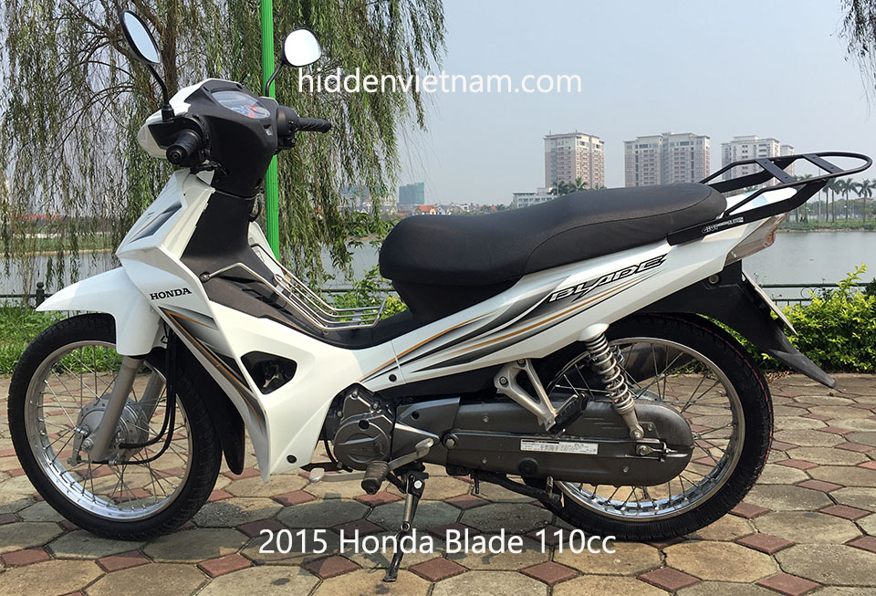 Hidden Vietnam Motorbike Tours - Used motorbikes for sale in Hanoi, Vietnam: 2015 Honda Blade 110cc