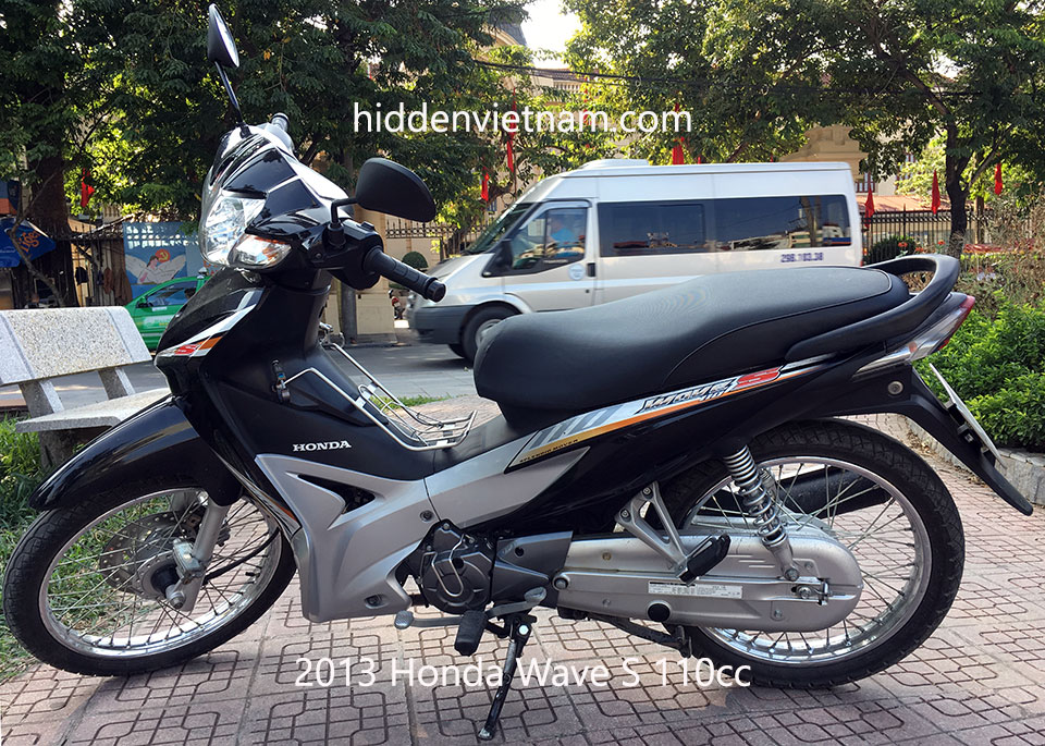 Hidden Vietnam Motorbike Tours - Used motorbikes for sale in Hanoi, Vietnam: 2013 Honda Wave S 110cc