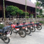 Honda XL125 bike fleet. Now replaced by latest XR125.
