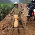 Cao Bang dirt biking in spring