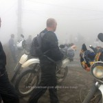 Hidden Vietnam Motorcycle Tours is proud to show you some photos of motorcycle tours that our customers and guides took during their trips in Vietnam. A misty day (normally in February & March) when vision is very very limited.