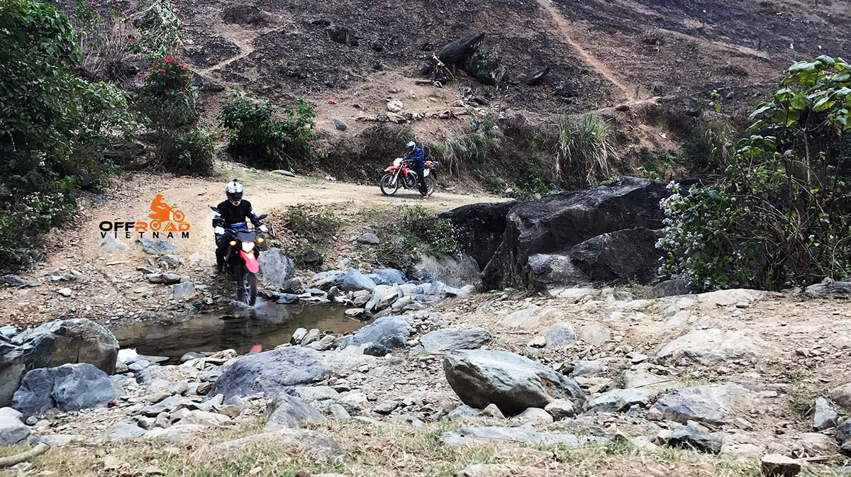 Hidden Vietnam Motorbike Tours for experienced riders with challenging off-road motorbike tours from Hanoi