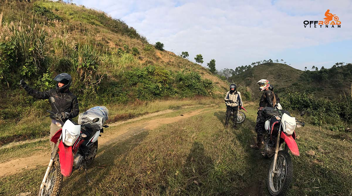 Moderate on and off-road motorbike tours in Vietnam for intermediate riders